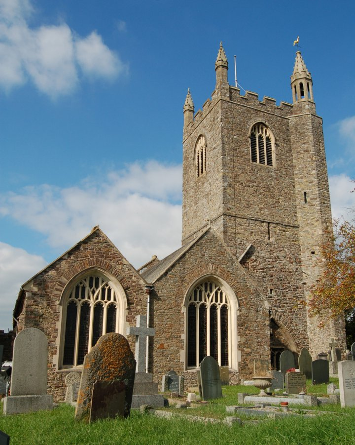 The Tower of St Mary's Church, Pilton